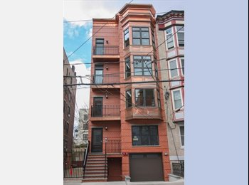 EasyRoommate US - Need Roommate for newly renovated Hoboken brownstone with private yard and garage parking - Hoboken, Central Jersey - $1,900 pcm