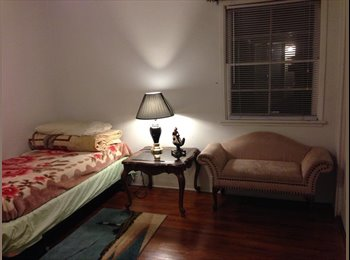 Peaceful room with orange view $750