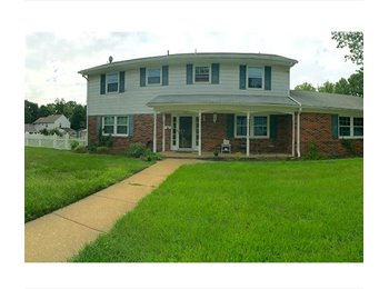 EasyRoommate US - 4 Bedrooms Available in a 5 Bedroom Home - Deptford, South Jersey - $500 pcm