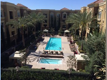 EasyRoommate US - Room available in luxury apartment! $1000 - Platinum Triangle, Anaheim - $1,000 pcm