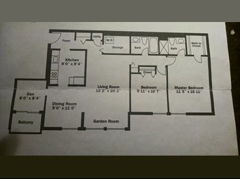 EasyRoommate US - roommate wanted to share expenses! - Gaithersburg, Other-Maryland - $700 pcm