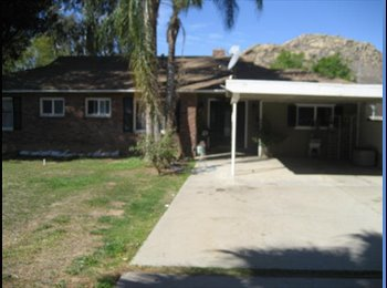 EasyRoommate US - Room in Riverside for Rent - Riverside, Southeast California - $450 pcm