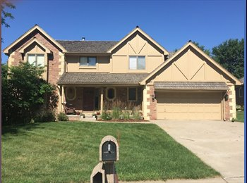 EasyRoommate US - Master bedroom for rent in home w/ hot tub on deck (132nd and Hamilton - Between Blondo/Dodge) - West Omaha, Omaha - $650 /mo