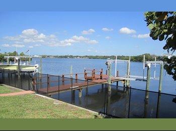 EasyRoommate US - Amazing waterfront house in Saint Pete needs a roommate  - St Petersburg, St Petersburg - $850 pcm