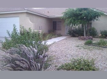 EasyRoommate US - room for rent with Christian couple looking for like-minded renters - Victorville, Southeast California - $350 pcm