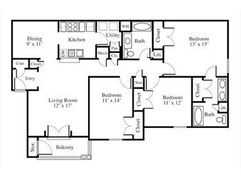 EasyRoommate US - Cheap, cute apartment, one room available! - Tuscaloosa, Tuscaloosa - $350 pcm