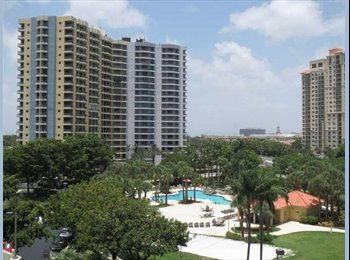 Looking for Roommate. GREAT condo, Aventura, miami, FL