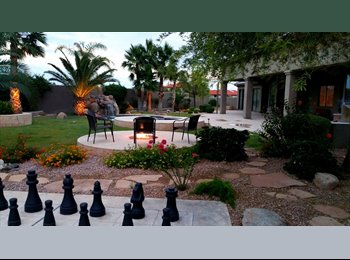 EasyRoommate US - Amazing Scottsdale Home!!  Huge, 15min to Old Town, great location - Scottsdale, Scottsdale - $800 /mo