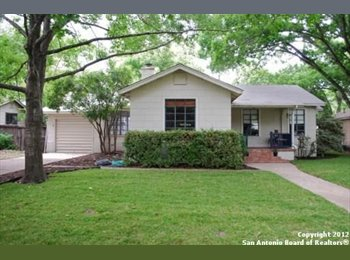 EasyRoommate US - Young Professional with an open room - Downtown - Alamo Heights, San Antonio - $650 pcm