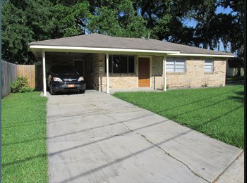 EasyRoommate US - Room for Rent!! - Marrero, New Orleans - $500 /mo