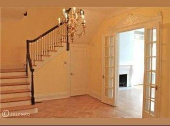 EasyRoommate US -  1 Bedroom/1 Bathroom in 5BR North Dupont House  - Dupont Circle, Washington DC - $1,390 pcm