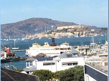 EasyRoommate US - Amazing Waterfront/Alcatraz Views - Russian Hill, San Francisco - $2,800 pcm