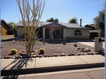 Close to ASU Tempe Campus - 2 Rooms available in 3BR House