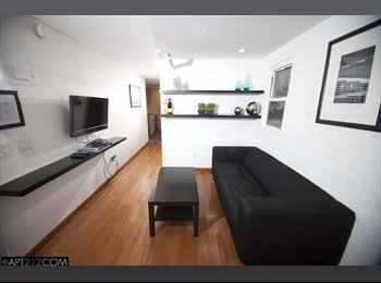 EasyRoommate US - One room available in a  - Furnished Rental - Custom Designed 4 Bedroom Apartment | Spring & Lafayet - Soho, New York City - $1,600 pcm