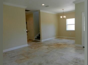 EasyRoommate US - Looking for 4th roommate in brand new 4BR house - Orlando - Orange County, Orlando Area - $600 pcm