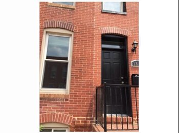 EasyRoommate US - One room for rent in 4 br / 3.5 bathroom rowhome  - Southern, Baltimore - $790 /mo