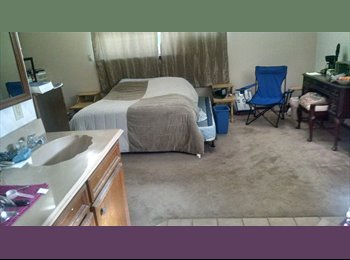 Furnished  downstairs master bedroom $500 bills paid
