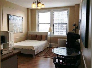 EasyRoommate US - Furnished Studio wiht Panoramic View - Market East, Philadelphia - $1,200 /mo