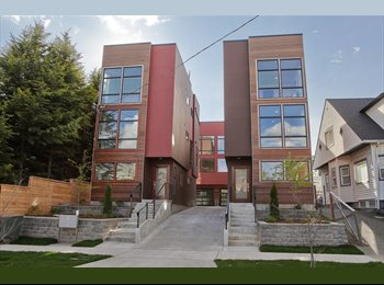 EasyRoommate US - $1150 / 1950ft2 - Brand New House in First Hill - First Hill, Seattle - $1,150 /mo