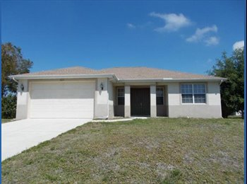 EasyRoommate US - ROOM FOR RENT - FEMALE ONLY - Cape Coral, Other-Florida - $500 /mo