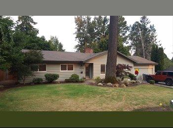 EasyRoommate US - quiet ranch style home home on cul-de-sac - Washington County, Portland Area - $850 /mo