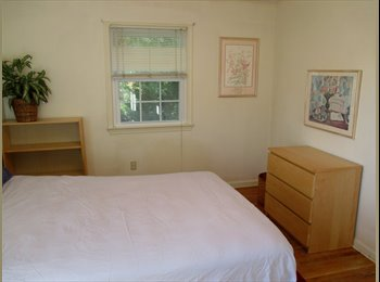 EasyRoommate US - Large Furnished Bedroo-Queen Bed . Share Quiet House. Male Prof. Nr. All - Germantown, Other-Maryland - $550 /mo