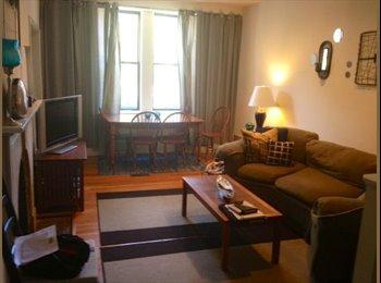 Fully furnished bedroom in 2 bdrm apt - fitler sq/grad hosp
