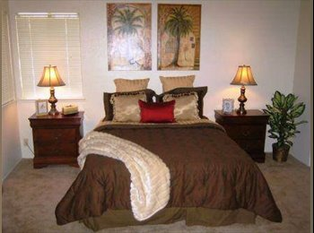 EasyRoommate US - Spacious room comes furnished or not up to you - Elk Grove, Sacramento Area - $300 /mo