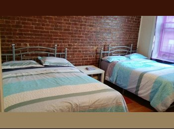 LARGE DOUBLE ROOM AVAILABLE IN MANHATTAN - WASHINGTON...