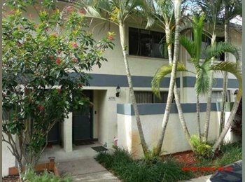 EasyRoommate US - Roommate Needed- Apt Very Close to NSU - Davie, Ft Lauderdale Area - $800 /mo