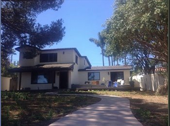 EasyRoommate US - Two rooms for rent in lovely Point Loma - Ocean Beach, San Diego - $900 /mo