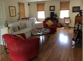 share a beautiful home on he cape with me and my two Golden...
