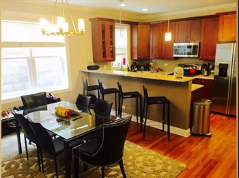 Bedroom available in huge, luxury Lakeview condo with...