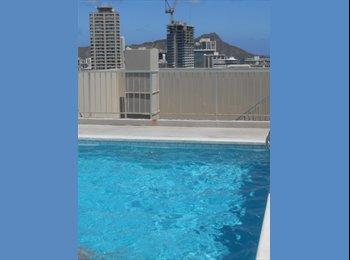 Clean Waikiki 1 bdrm. condo to share