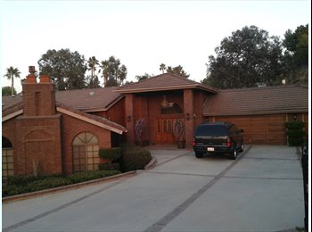 EasyRoommate US - room in beautiful custom home - Riverside, Southeast California - $800 /mo