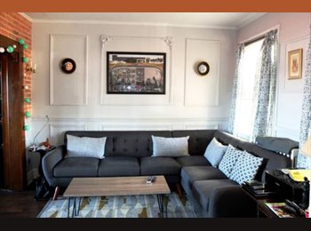 EasyRoommate US - 2 Rooms in Hampden for 1 person  - Northern, Baltimore - $850 /mo
