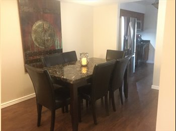 Beautiful furnished town home with community pool and...
