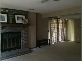 EasyRoommate US - Full lower level, heated garage $800, fireplace, great space - Roseville / Little Canada, Minneapolis / St Paul - $800 /mo