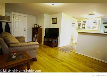 Room for rent in a historic Cap Hill building
