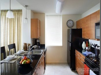 2 bed rooms in a 3 bedroom apt, high floor plan and...