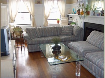 EasyRoommate US - Brookline Bedroom (and Private Office) Available 9/1 ($852 /month) - Brighton, Boston - $852 /mo