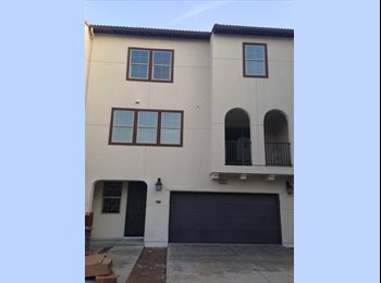 EasyRoommate US - Signal Hill - Furnished One bedroom (NEW Townhouse) - Long Beach, Los Angeles - $800 /mo