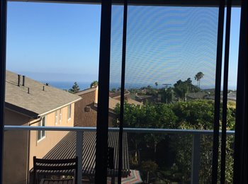 EasyRoommate US - Dana Point Ocean views Patio bedroom with own bathroom  - Dana Point, Orange County - $1,500 /mo
