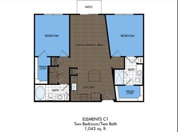 EasyRoommate US - Roommate Needed in Cute Apartment (Mueller) - Hyde Park, Austin - $910 /mo