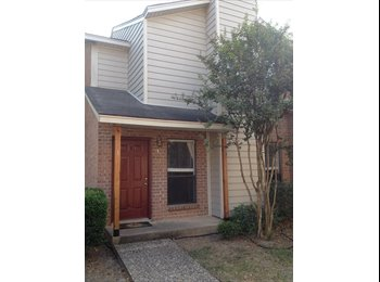 EasyRoommate US - Spacious & Bright Bedroom in Wolf Pen Creek Townhouse near Texas A&M - Other-Texas, Other-Texas - $500 /mo