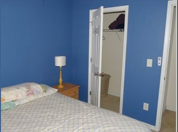 Luxury townhome has furnished room for rent