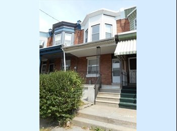 EasyRoommate US - Cute 3-bedroom, one bath home. Nice back yard. Carpet through out. Clean. Close to a major shopping  - Chinatown, Philadelphia - $900 /mo