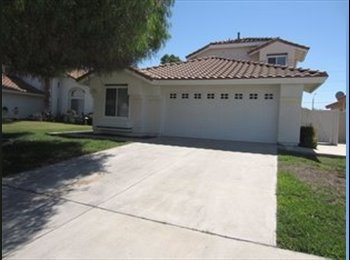 EasyRoommate US - Beautiful home in Menifee Lakes - Murrieta, Southeast California - $650 /mo