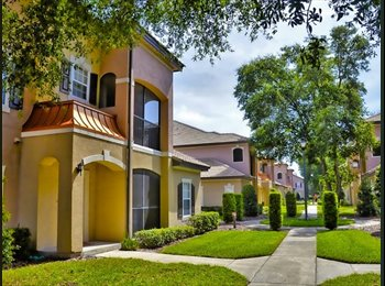 EasyRoommate US - Student-Friendly Condo in Perfect Location - Seminole County, Orlando Area - $500 /mo