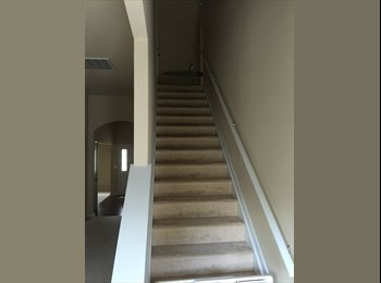EasyRoommate US - Newer 2 story home. Private upstairs for rent. Private full bath, bedroom, closet, and large private - Charlotte, Charlotte Area - $800 /mo